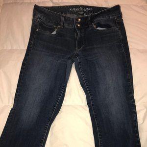 American Eagle Artist Crop Super Stretch jeans
